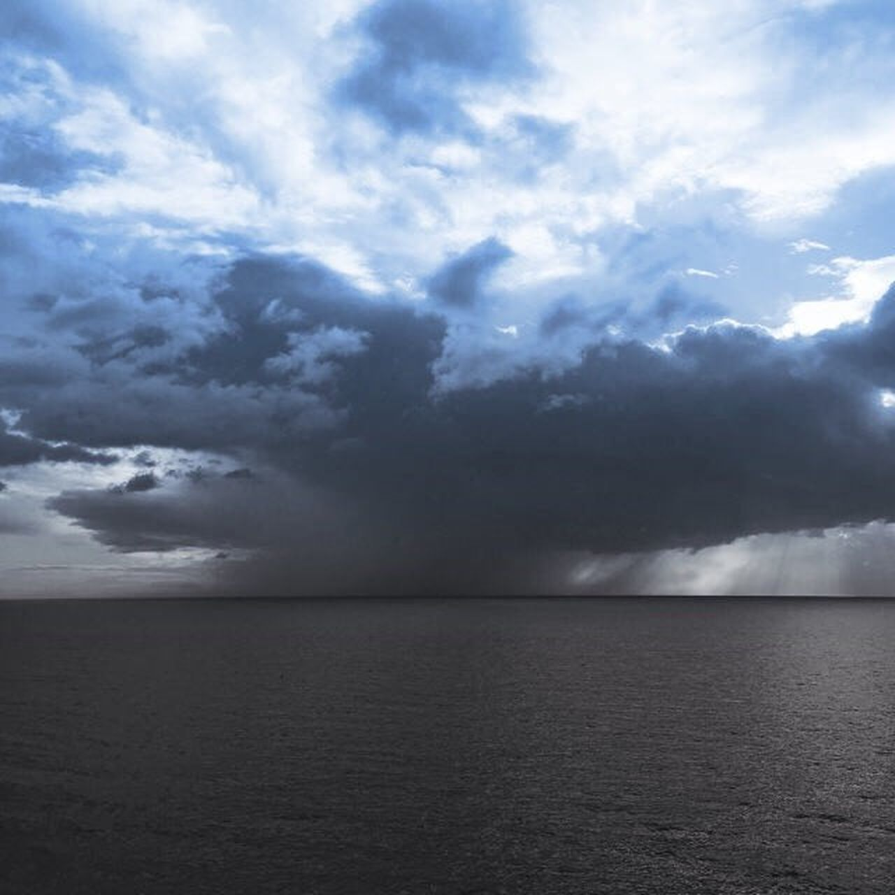 cloud - sky, sea, nature, sky, scenics, water, storm, thunderstorm, no people, outdoors, storm cloud, horizon over water, day, beauty in nature
