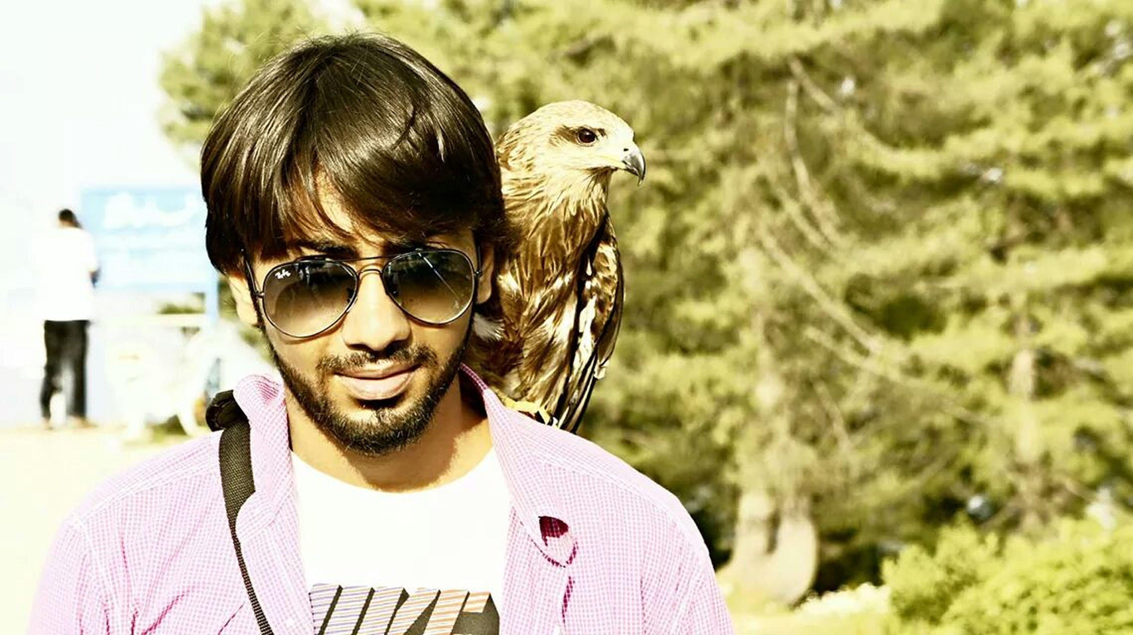 Me Eagle On Shoulder
