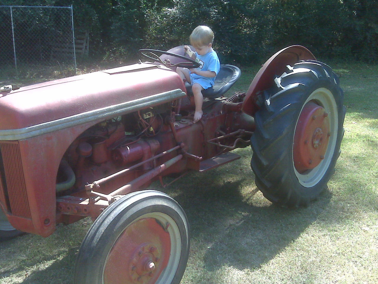 Childhood Land Vehicle Mode Of Transport Old Old Tractors Tractor Transportation Vintage Tractors
