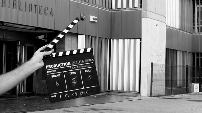 Monochrome Photography Photography Outdoor Artist Short Film Bellas Artes Catalonia UB Day Film Rafa Vázquez