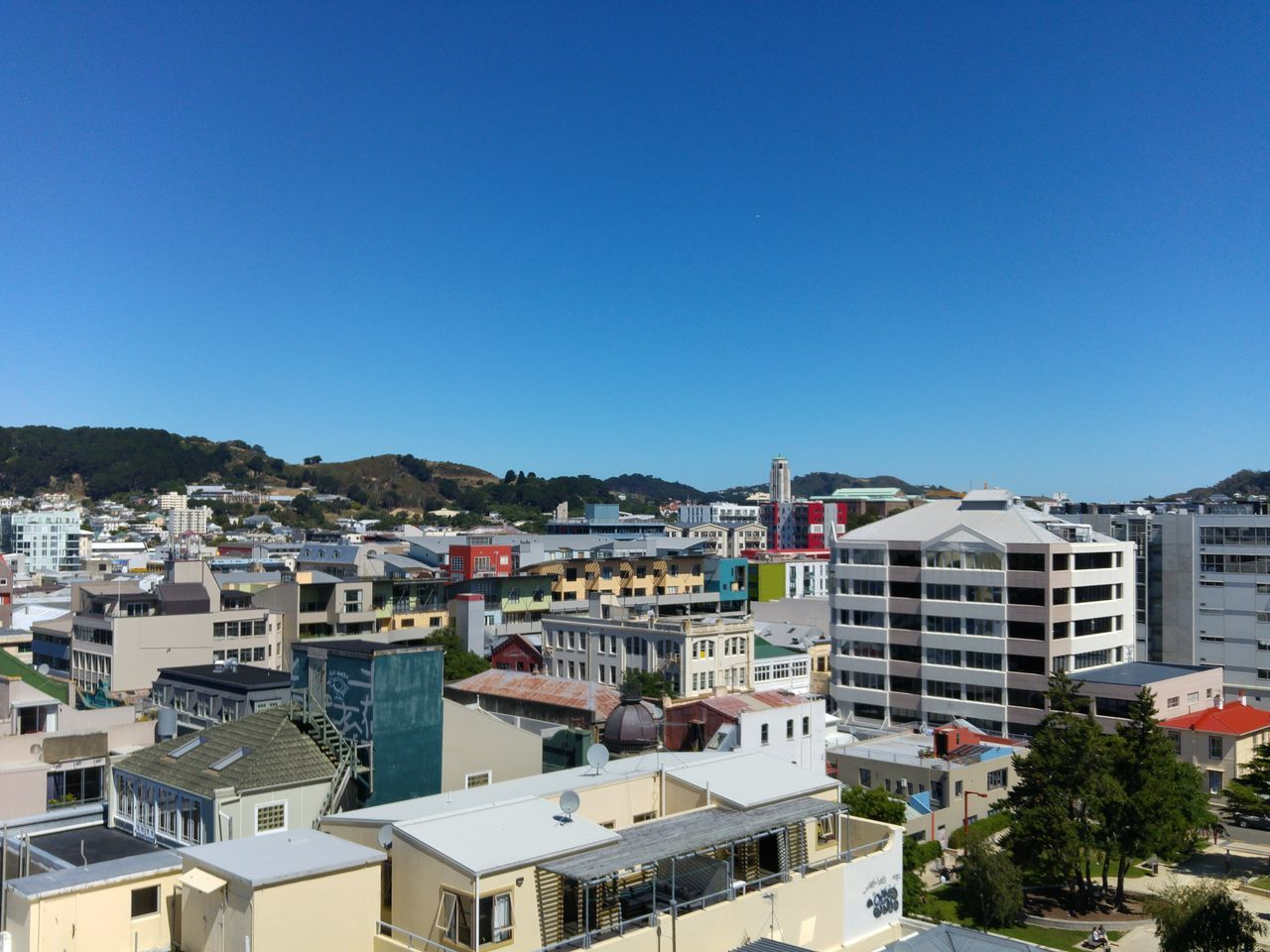 CBD Wellington Wellington Nz Blue Sky The Architect - 2016 EyeEm Awards