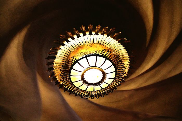Let there be light. Casa Batllo Gaudi Barcelona Light And Shadow