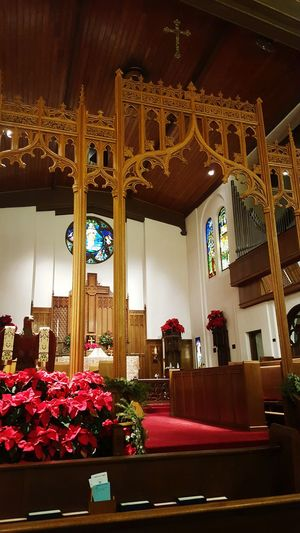 Loving my beautiful church St Marks Episcopal Church Sanctuary  God Is Good Night Service