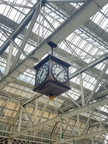 Glasgow Central Clock Train Station Arcitecturephotography Showcase July in Glasgow