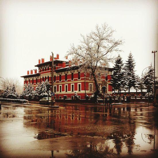 Konya Turkey Konya Meram Konya Station Train Station Winter Train Taking Photos Relaxing Hello World