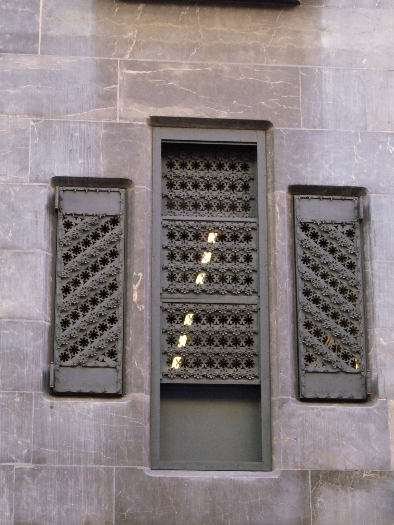 Outside Window Wrought Iron Screen, Palau Guell Architectural Detail Architecture Barcelona Building Exterior Built Structure City Composition Famous Place Famous Places Full Frame Gaudi Gaudì Architecture Work House No People Ornate Outdoor Photography Palace Palau Guell Screen Spaın Sunlight And Shadow Tourist Attraction  Tourist Destination Window Wrought Iron Design