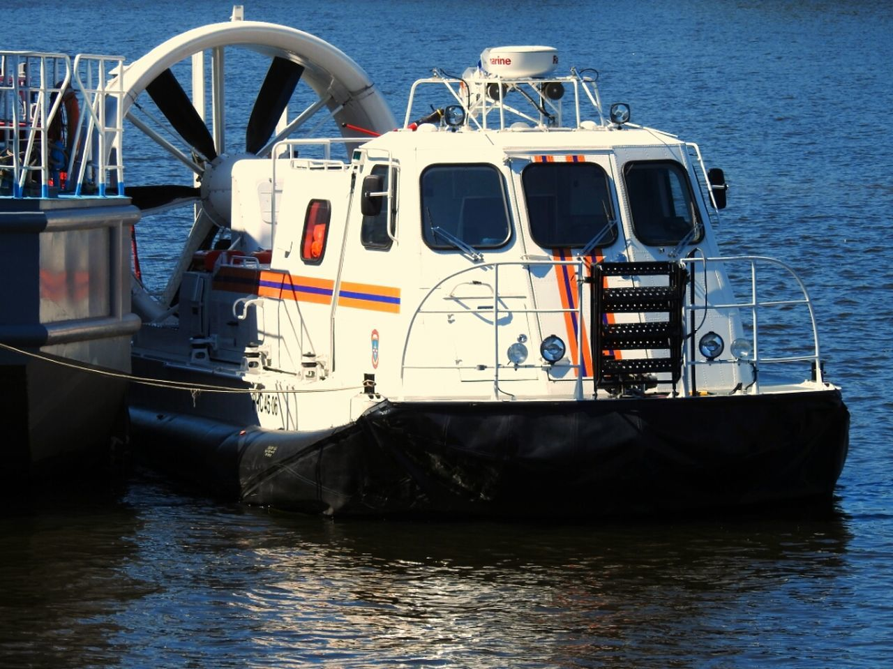 The Boat Hovercraft MCHS Rescuers River Neva Embankment Sankt-Petersburg Feel The Journey The Innovator