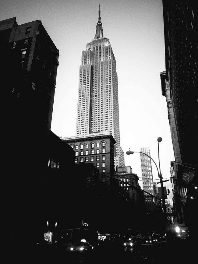 N O I R York City Blackandwhite Gotham Monochrome