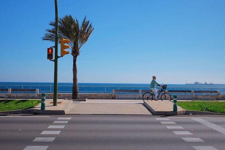 Ocean Ocean View Biking At The Ocean Urban Bycicle Urban Transportation Urban Lifestyle Fujifilm_xseries Fujifilm