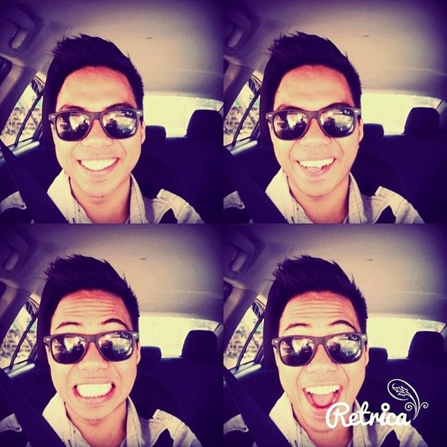 Driving Our New Car Vios Model 2014.. Thank You Lord sa Blessing sa Family.. :)) Feeling Blessed  Vios Model 2014 driving car church lateupload fgcc imadriver toyota vios blessing thankyou Lord smiling selfie me joven