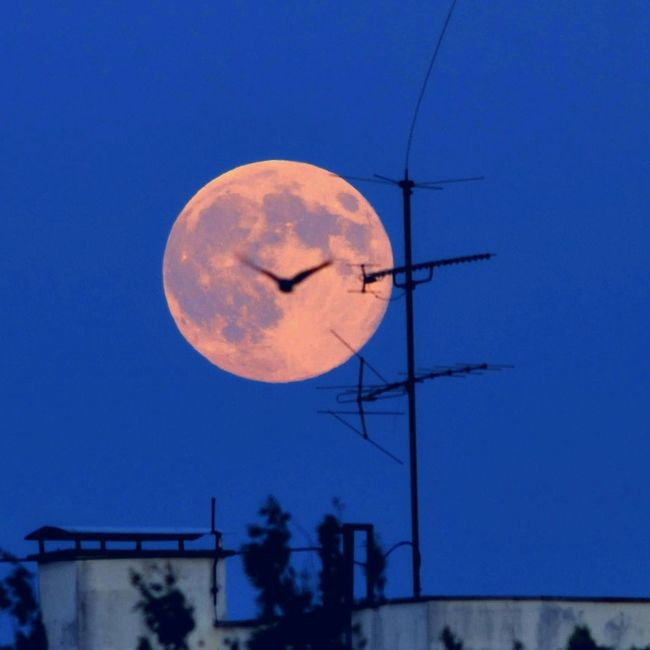 super moon Eye4photography  Nature Moon Landscape