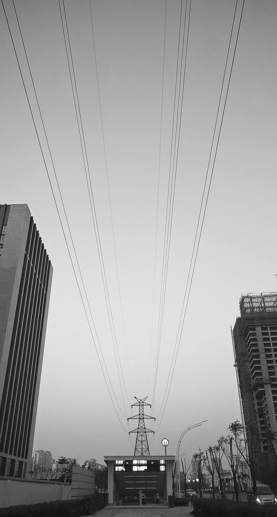 City City Life Black & White Taking Photos Lines Enjoy The View Long Lines