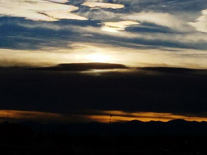 Denver sunset Sunset Cloud - Sky Beauty In Nature Tranquility Sky Landscape