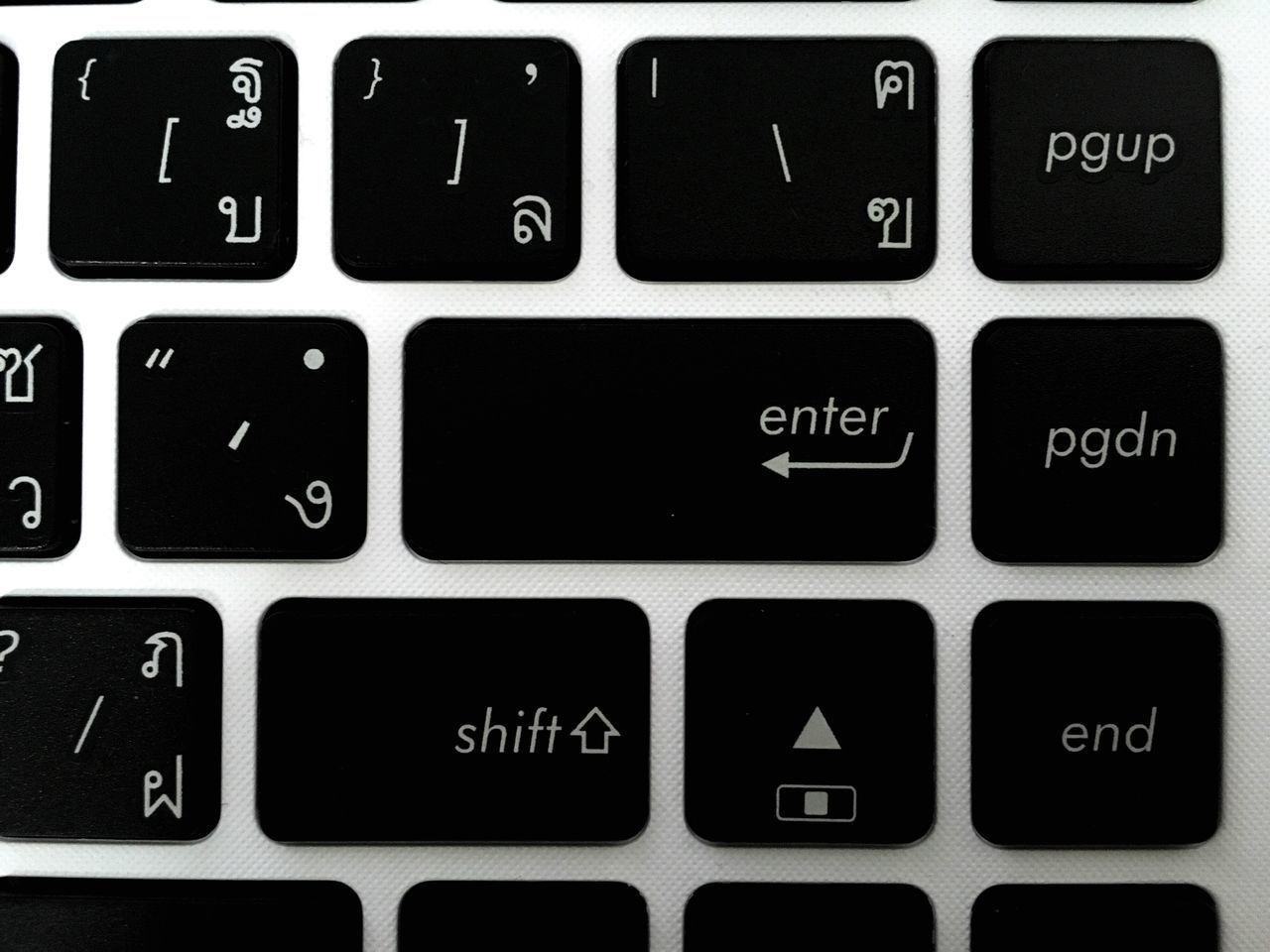 Full Frame Shot Of Keyboard