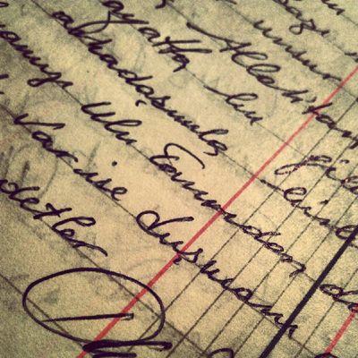 """Geçmişe dair bilinmeyen ne acı varmış halbuki... """"Naci ustanın el yazısı"""""""