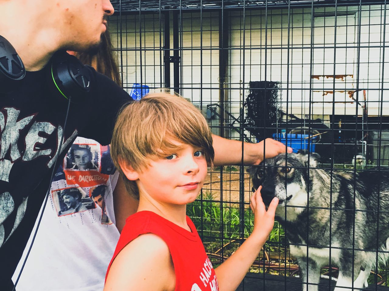 Everyday Emotion Family My Life Alabama Mobile County From My Point Of View A Friend Hanging Out With Momma Wolf Boys 11yrs Old Overcoming Your Fears He Touched Her Eventually Making Memories! :) Family Matters BestEyeemShots Spending Time Together Eyeem Market