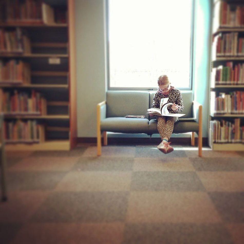 My girls love the library as much as me! Yes! Bookworms unite! Justleesha Mamalode Clickinmoms Momswithcameras love