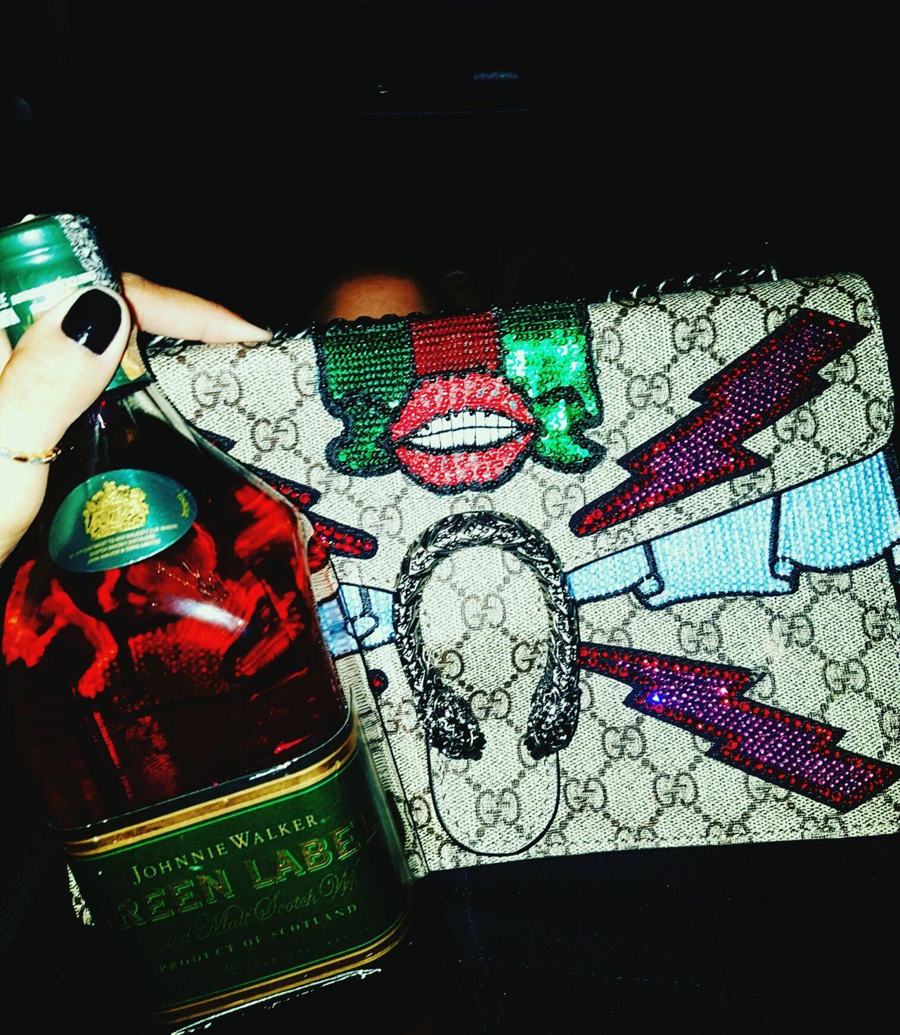 GUCCI Bags Wisk Green Label Bolsa Amo❤ Fashion