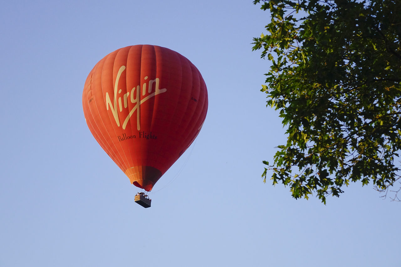 A Virgin hot air balloon flight over the Surrey countryside in Milford, England. England England, UK England🇬🇧 Godalming Hot Air Balloon Hot Air Ballooning Hot Air Balloons Milford Richard Branson Surrey Surrey Countryside Virgin