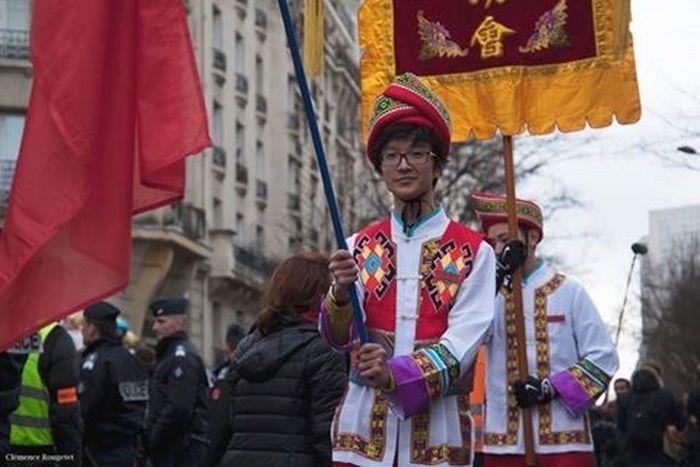Nouvel An Chinois 2016, Paris 13e. Paris Nouvel An Chinois Chinese New Year Portrait Man Chinese New Year 2016