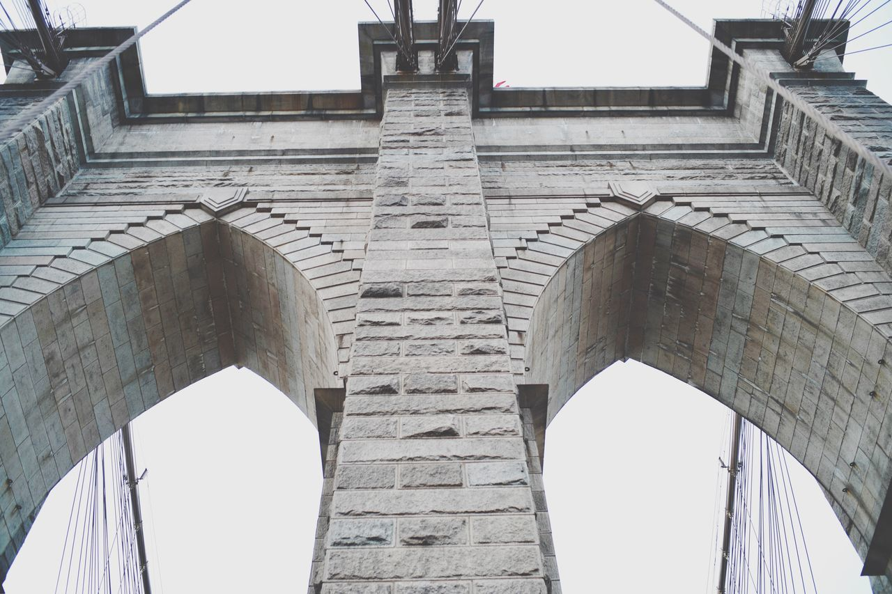 Brooklyn Bridge Built Structure Architecture Outdoors Bridge Brooklyn Brooklyn Bridge / New York Brooklynbridge NYC NYC Photography New York NY Brooklynnyc Leica SL USA Low Angle View