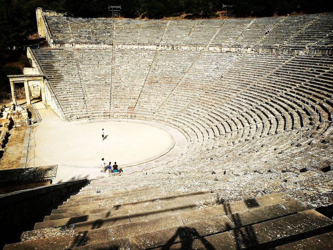 Teatro de Epidauro, Grecia First Eyeem Photo