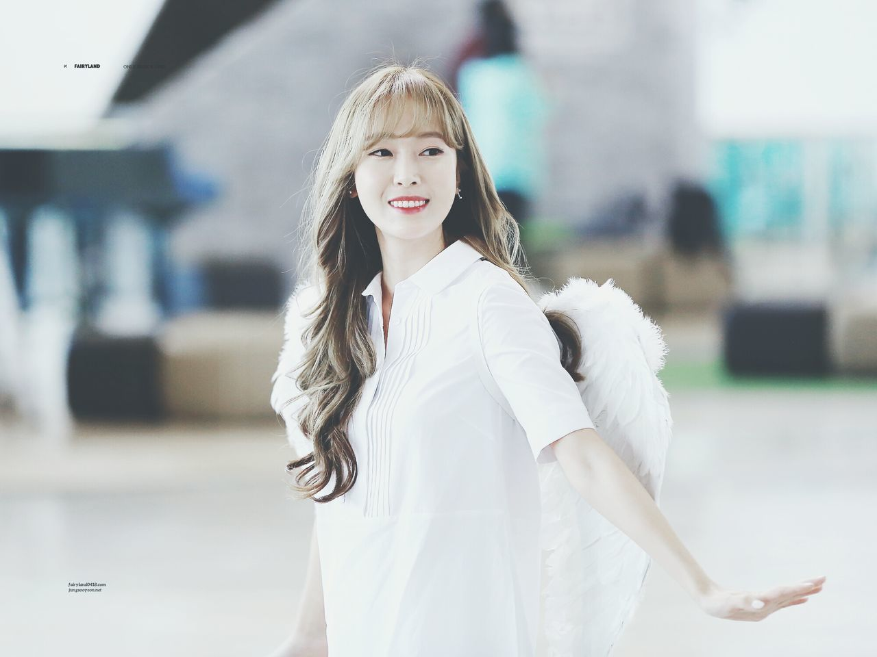 Jessica Jung Fly Angel