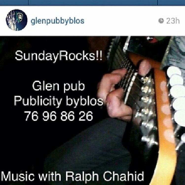 Rocking and Pouring . .Tonight @glenpubbyblos Cheeers