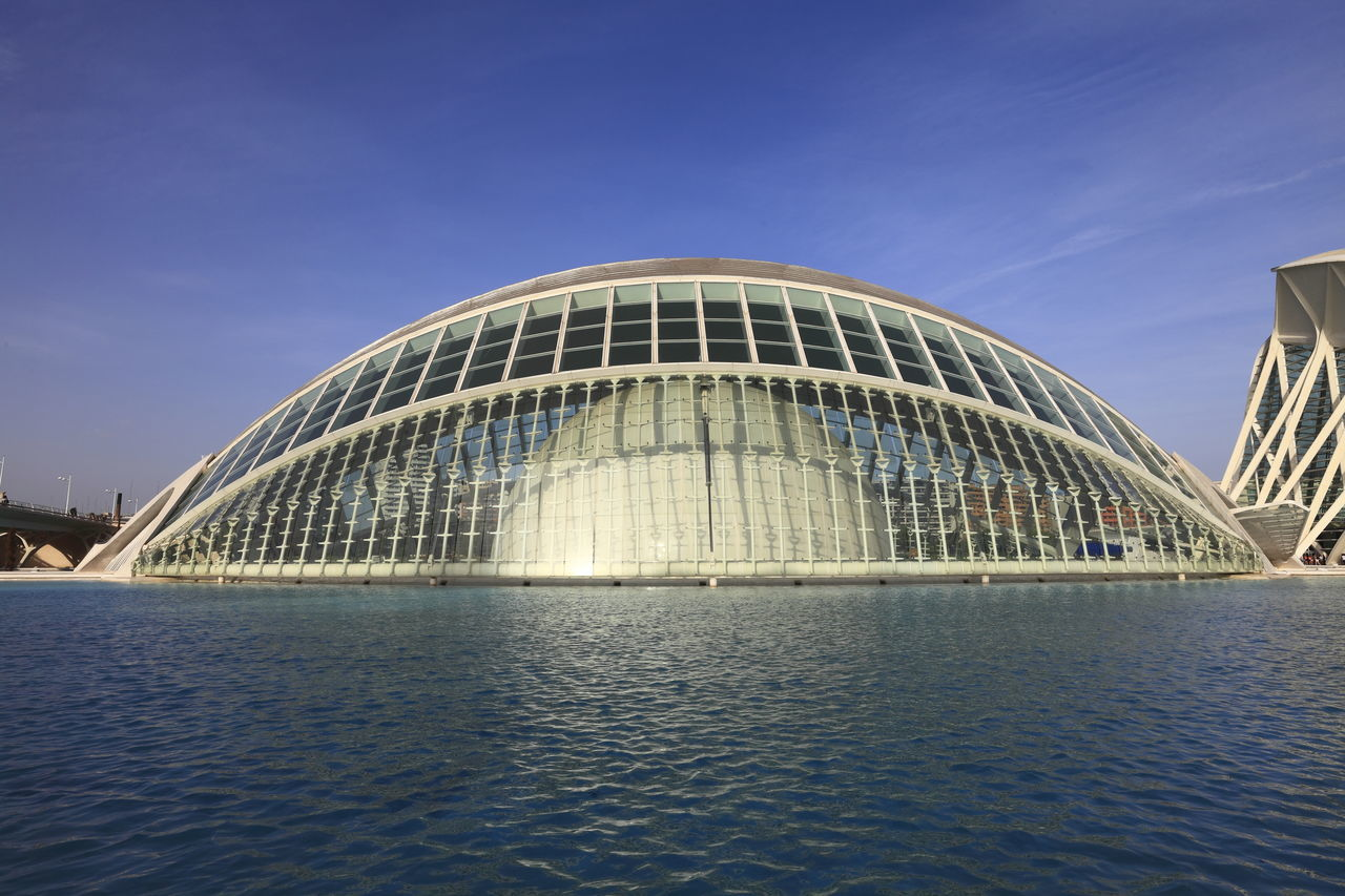 Adapted To The City water in Valencia, Spain Modern Architecture Architecture City Building Exterior Water Travel Destinations Cityscape Modern Bridge - Man Made Structure Landscape Outdoors Abstract Architecture Reflections In The Water City Of Arts And Sciences Travel Photography Abstract Calatrava Spanish Architecture Architecture And Art Architectural Design Travel Traveling Travel Desinations