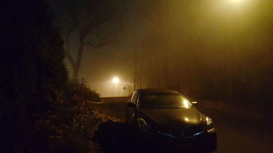 Ghost car Spooky Night Car
