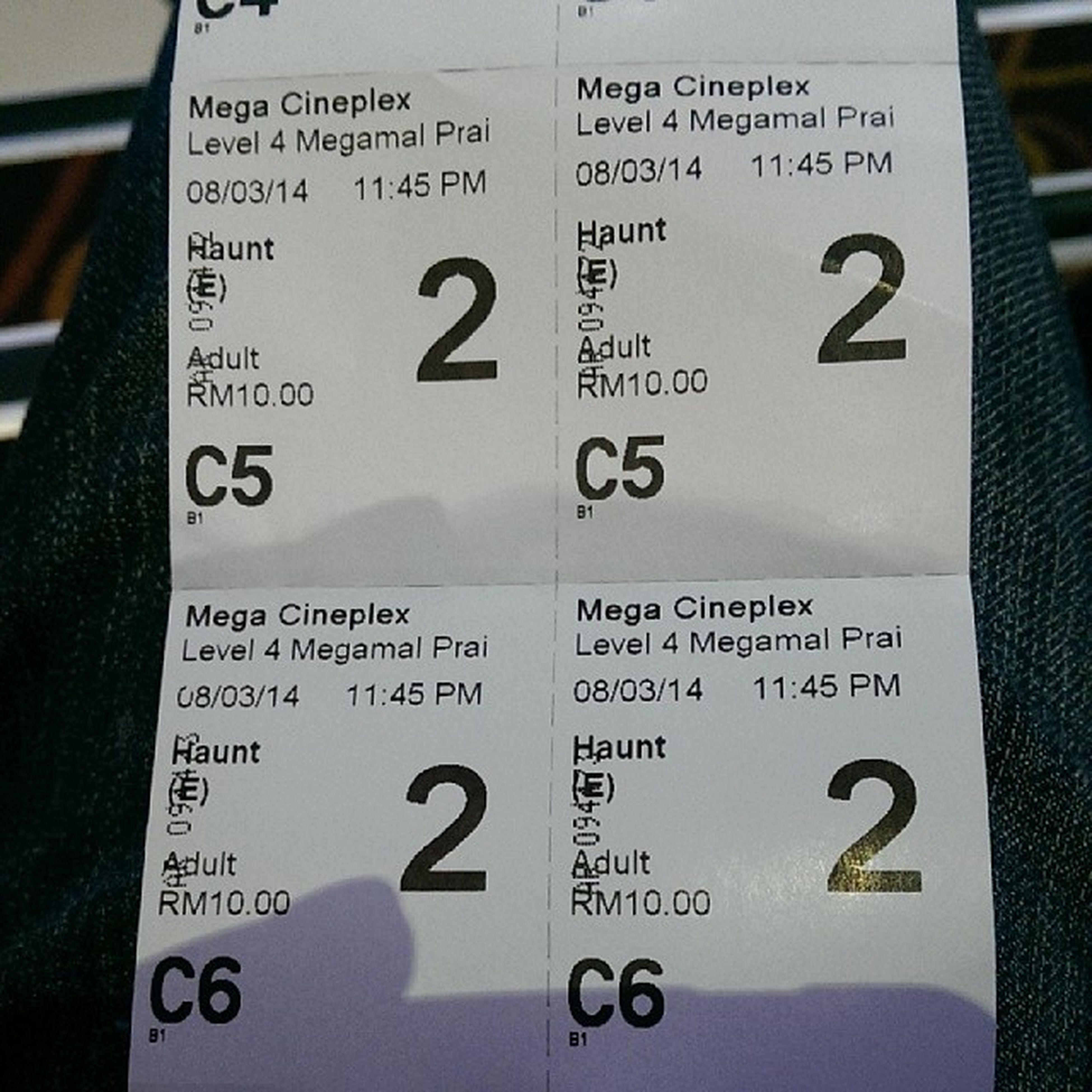 Layan Haunt MegaCineplex Megamall Prai penang
