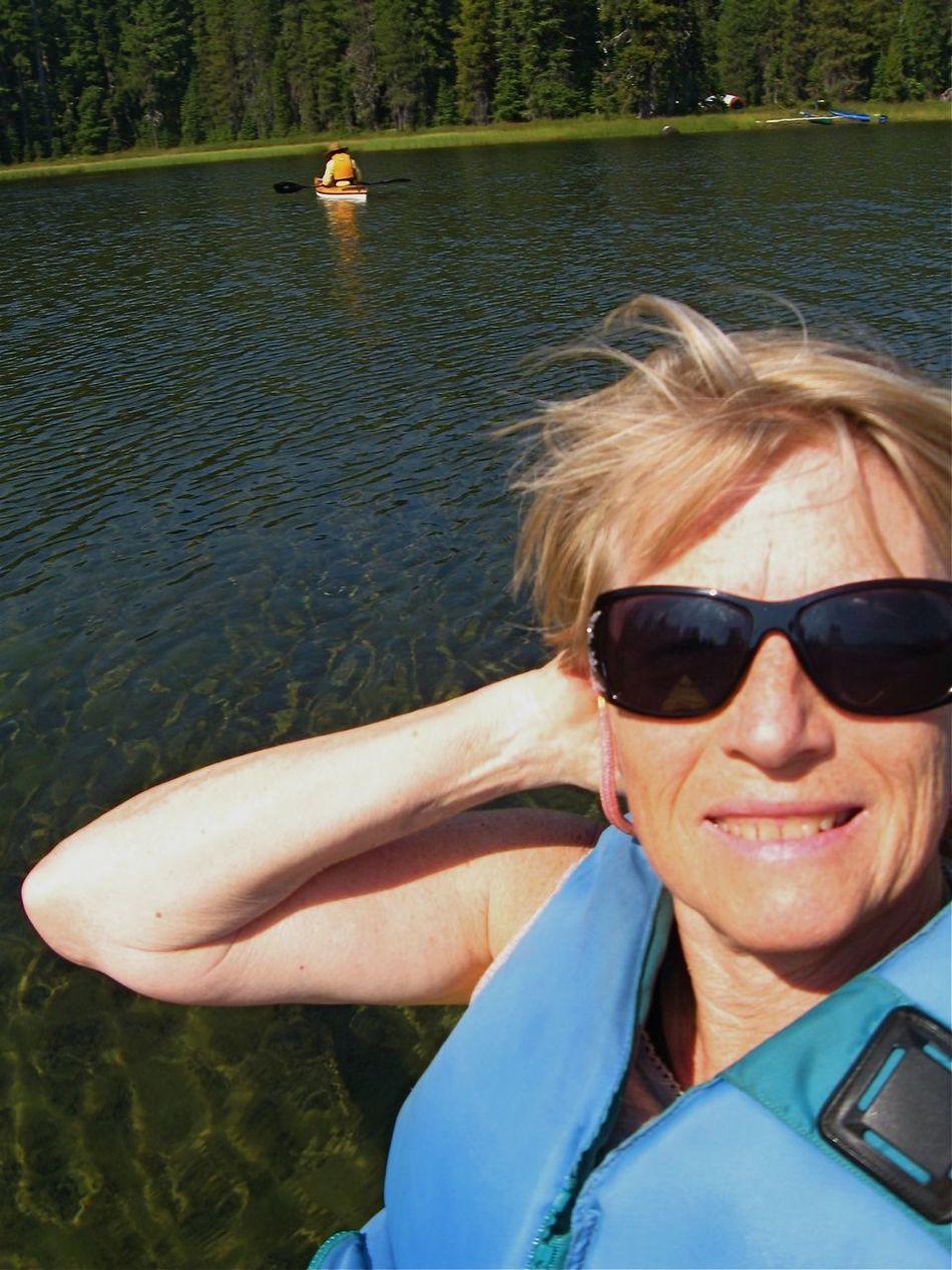 RePicture Femininity Kayaking Waldolake