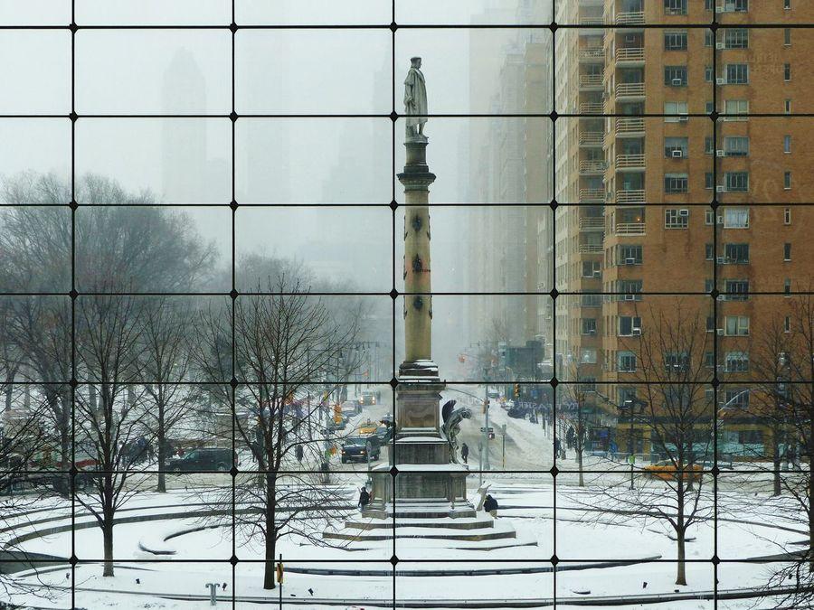 Columbus Circle New York City Travel Destinations Blizzard2017 Blizzard 2017 Snowstorm Snowday Stella Blizzard Snow Winter Snowing Neighborhood Map
