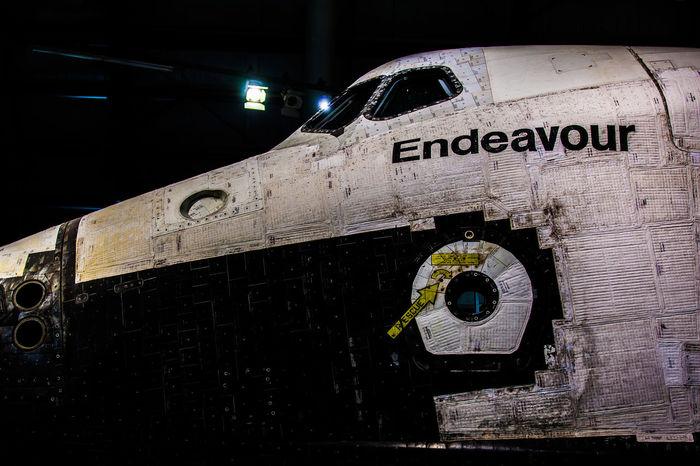 California Close-up Endeavour NASA No People Space Shuttle Endeavour Us