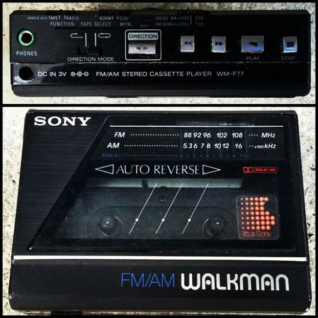 127/365 Walkman AutoReverse Tapesandtapes