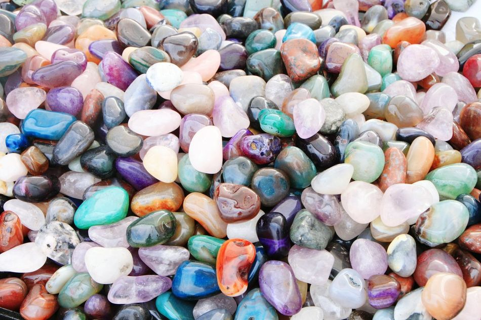 Large Group Of Objects Full Frame Outdoors Pebble Pebble Beach Close-up Day Multi Colored No People Beach Abundance Water