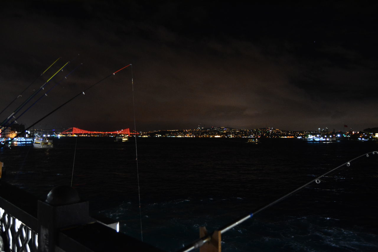 Galata Köprüsü Turkey Galata Bridge Night People Together Fishing Night Vision Marmara Sea Art Gallery Pictures Tell A Story Istanbul My Gallery People Together Journey Tourism Travel Cityscape On The Street