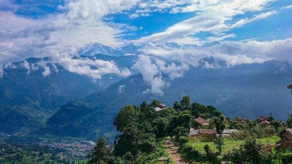 Beautiful stock photos of annapurna,  Cloud - Sky,  Cloudy,  Day,  Green Color