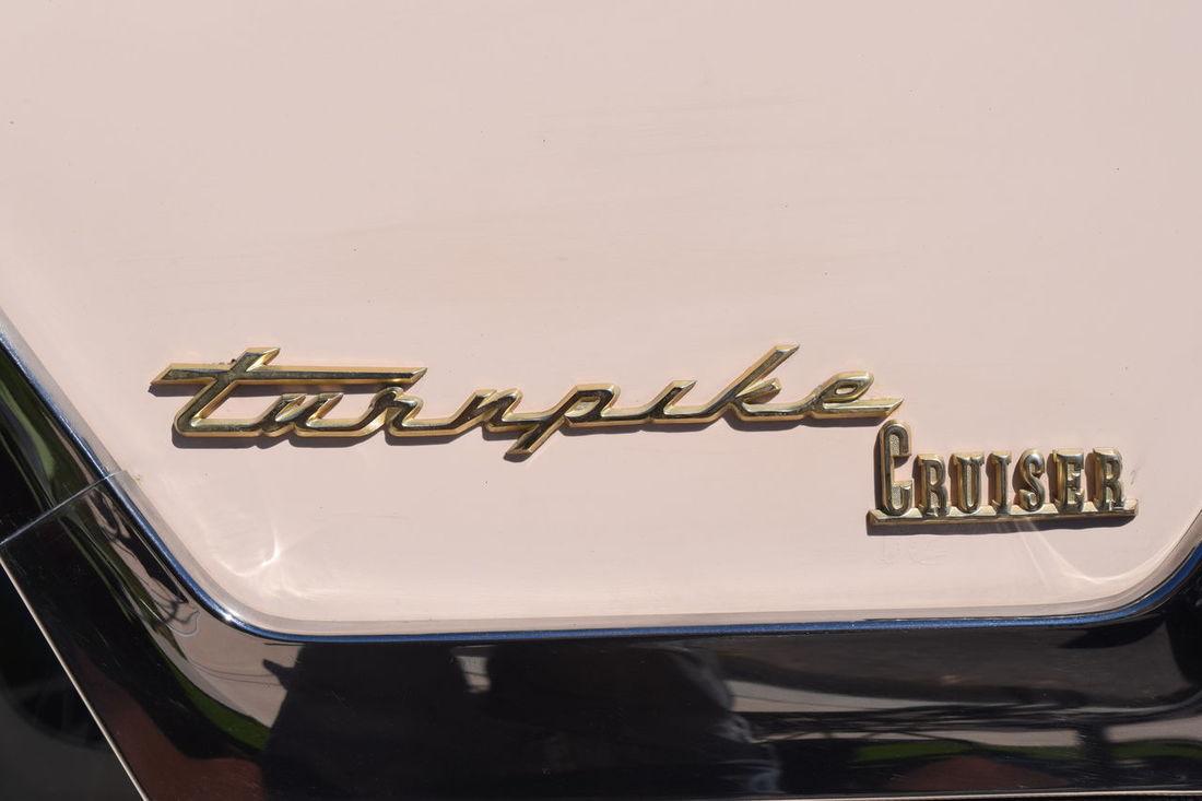 Auto Automobile Classic Cruiser Emblem  Turnpike Vehicle Western Script