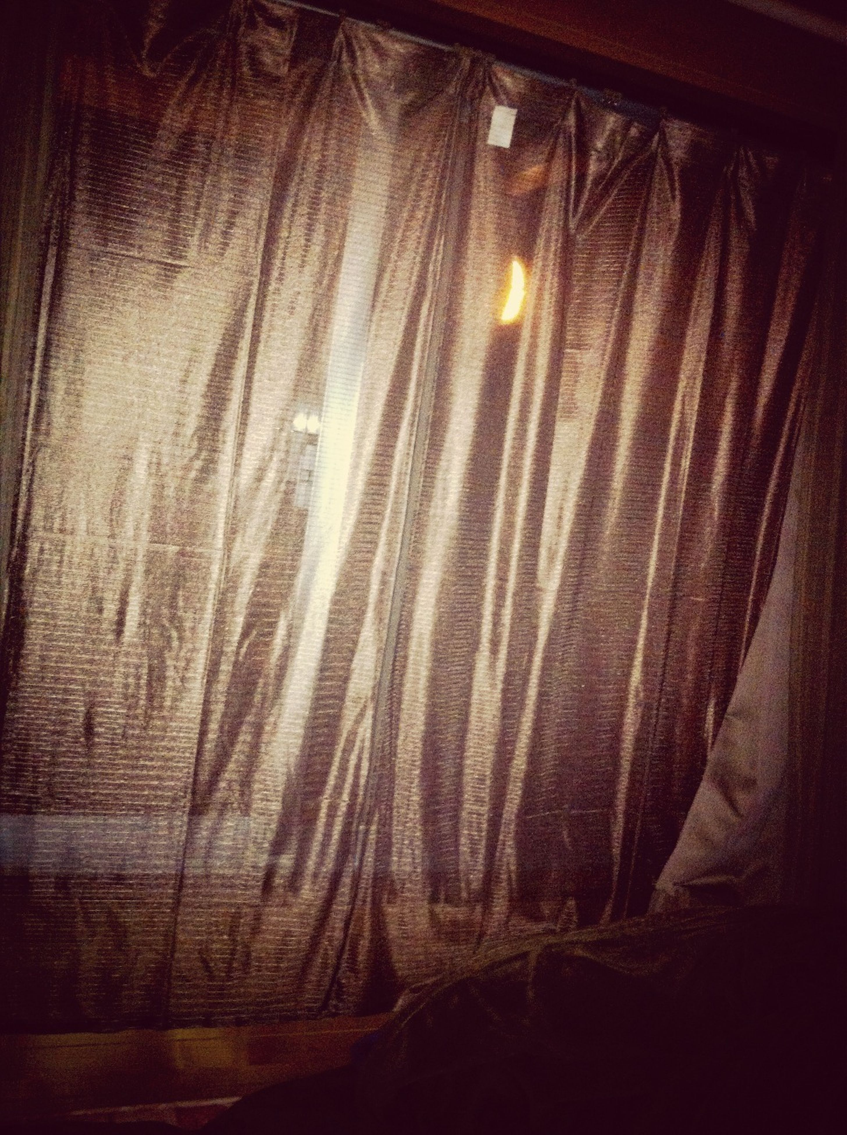 indoors, window, full frame, close-up, backgrounds, transparent, curtain, pattern, no people, dark, glass - material, night, illuminated, textured, light - natural phenomenon, abstract, home interior, auto post production filter, detail, textile