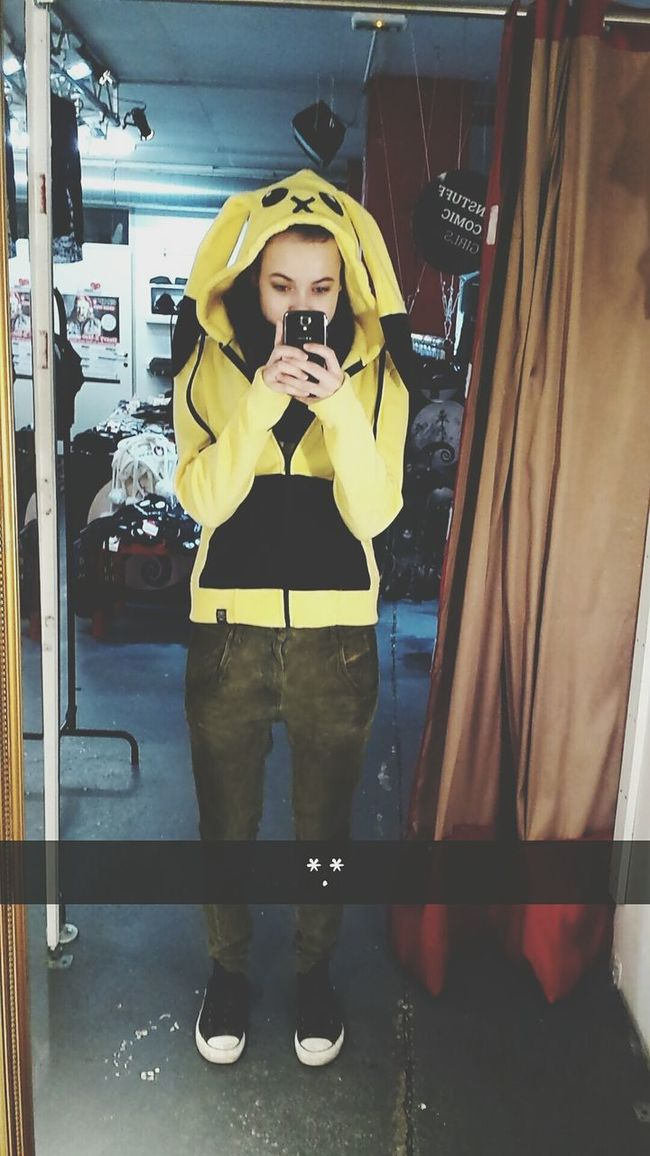 snapchat: realmonster Picatchu Emp Love This Sweater ♡☆