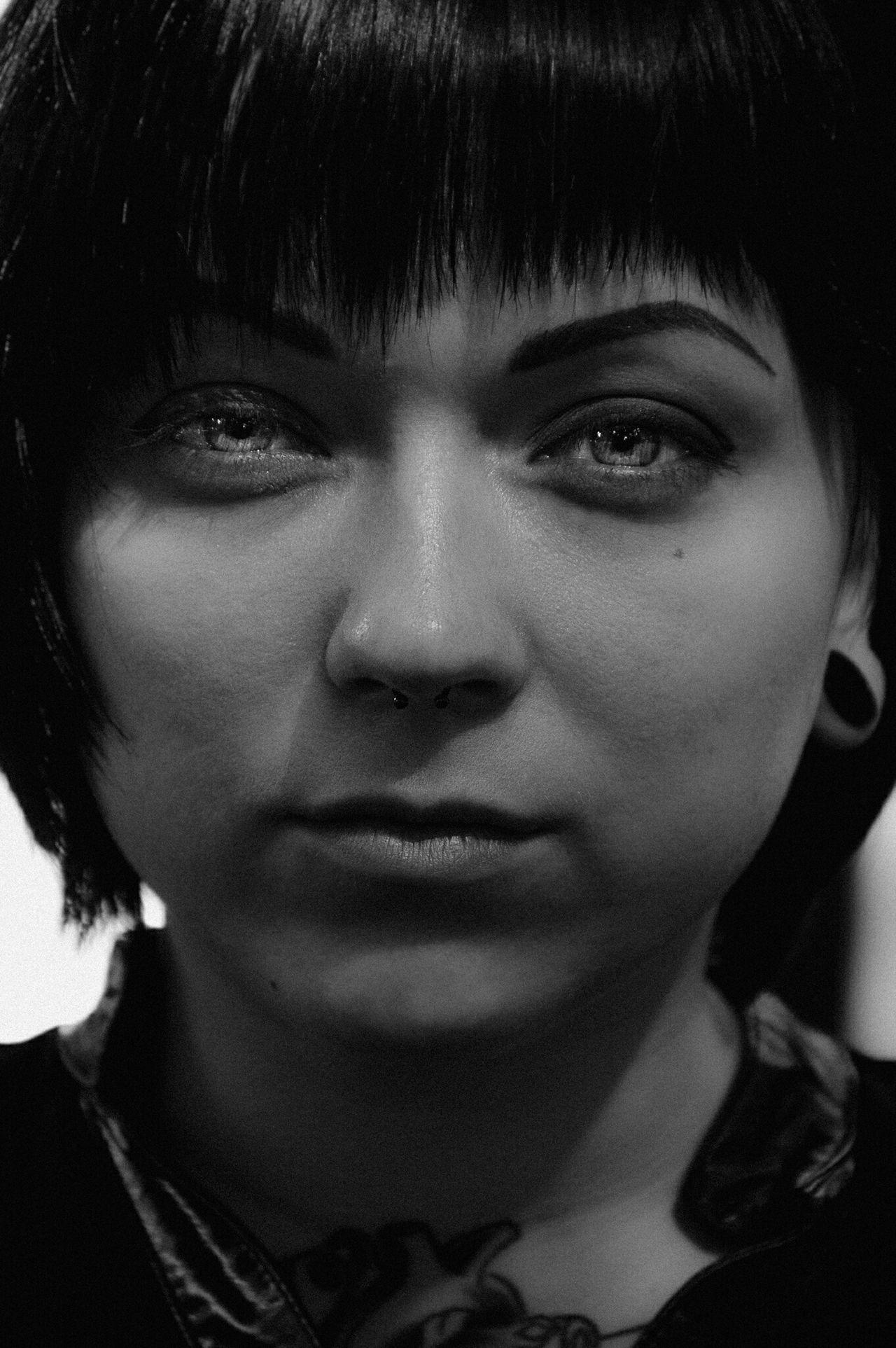 Taking Photos Monochrome Blackandwhite Latvia Riga PhotoIF Beautiful Girl Portrait