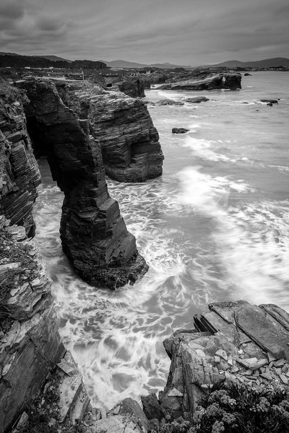 Praia as Catedrais Landscape Landscape_Collection Landscape_photography Blackandwhite Landscapes España SPAIN Galizia
