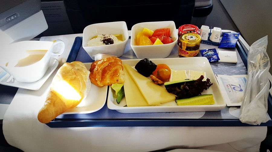 Food And Drink Food Ready-to-eat No People Breakfast Bread Indoors  Toasted Bread Food State Day Plane Firstclass Buisiness Flight MEA Middle East Lebanon Beirut Frankfurt Yummy Food Luxury Sunny Finding New Frontiers