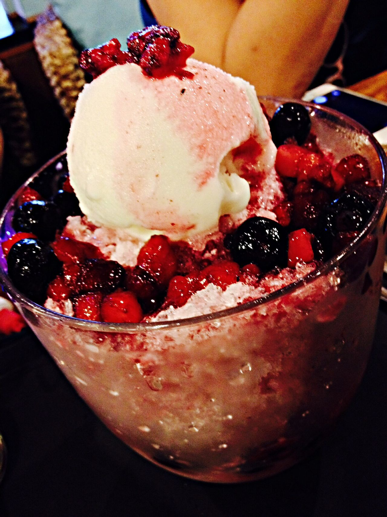 Berries Bing Ba Suk Ice Blended Desserts Koreanfood