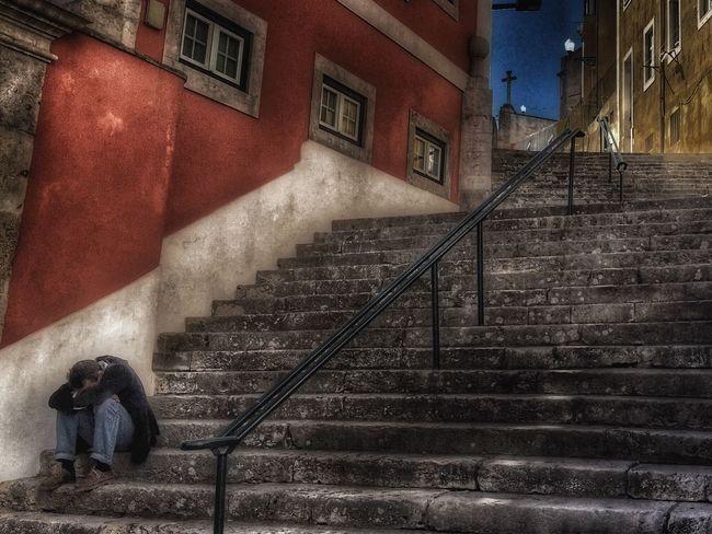 Stairs Lisboa Nap