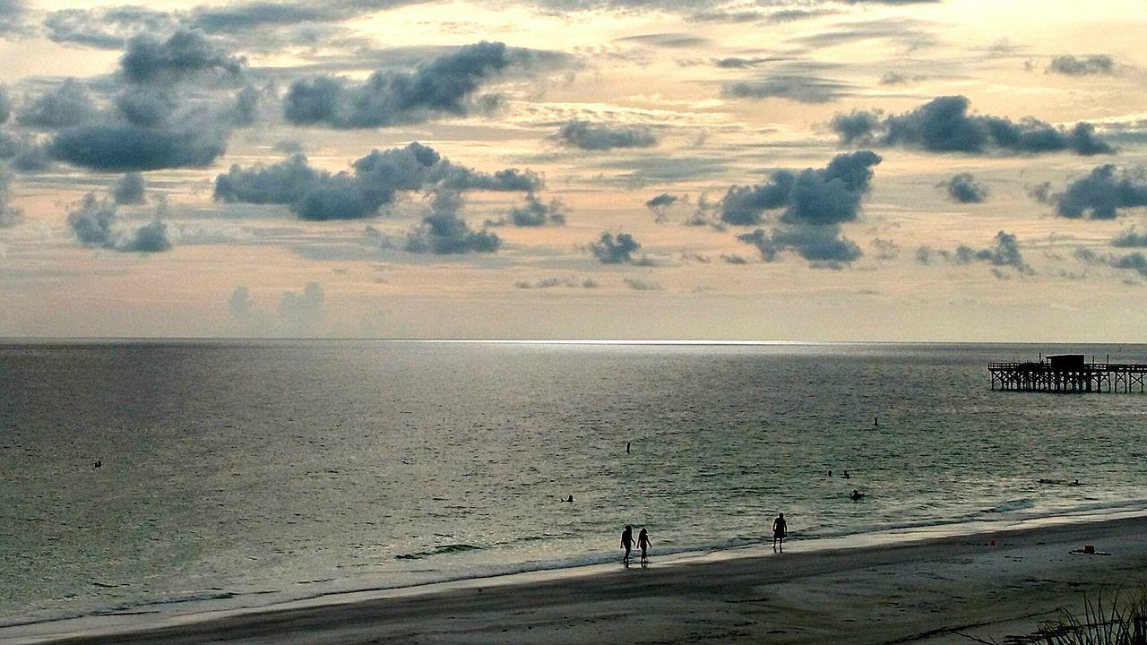 What light Beach Photography Sunshine Light Vs Dark Wide Joy Listen To The Sea Mind Full Me Loving Existing