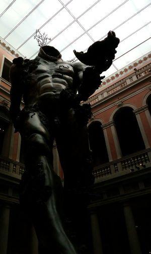 Statue History Architecture Built Structure Sculpture Travel Destinations No People Indoors  Venezia Damien Hirst Treasures