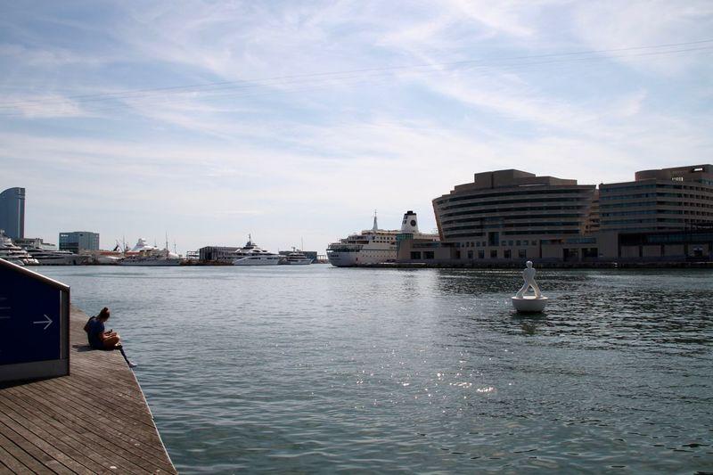 Barcelona City City Life Marina Port De Barcelona  SPAIN Port Sea Travel Destinations