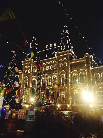 #Open Edit #niceday #TakingPhotos  #photo #photography Illuminated Built Structure Architecture Building Exterior Large Group Of People Outdoors City Christmas Lights EyeEmNewHere